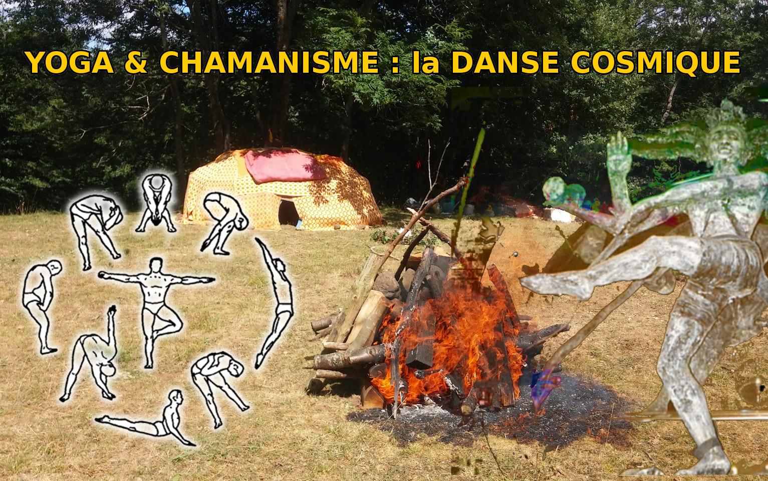 hutte yoga et chamanisme danse cosmique